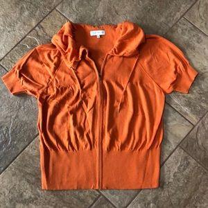 JONES NEW YORK Orange Top